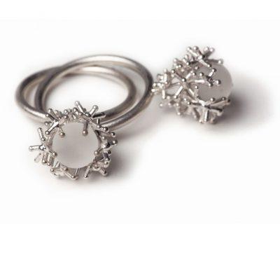 925/-Silber 1 Chrystal