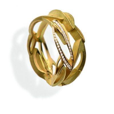 750/-Gelbgold Brillanten