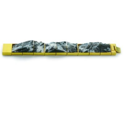 Collier 750/-Gelbgold Dolomit