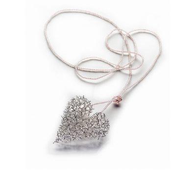 925/-Silber Perlenkette